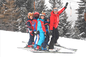 Children Ski Lessons in Bormio