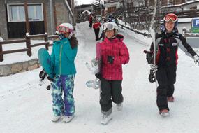 Corsi di snowboard per bambini