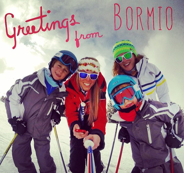 Skiing during Carnival in Bormio