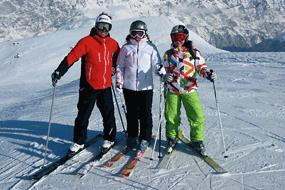 Skiing in Bormio